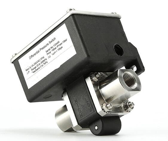 GE-511C Differential Pressure Switches with stainless steel body