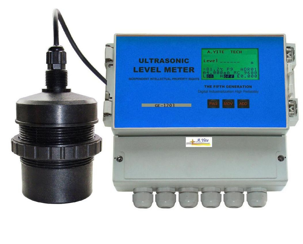 GE-1203 Ultrasonic Level Meter 0.25% accuracy
