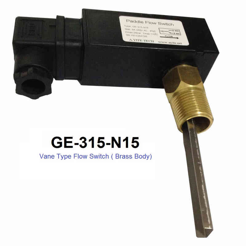 GE-315N15 Insert Vane Type Flow Switches