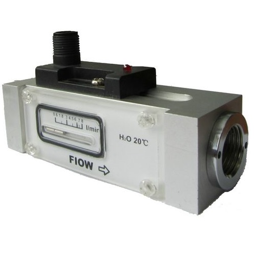 Piston Flow Switch with flow indicator