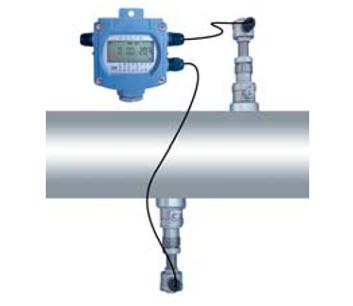 Battery Power Supply Ultrasonic Flow Meter
