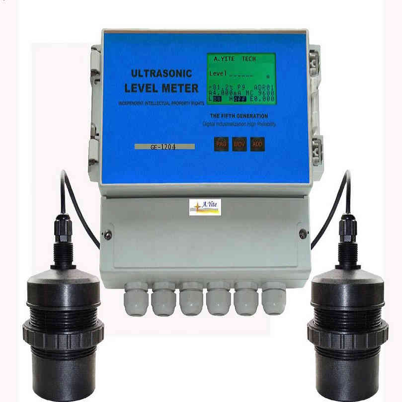 Ultrasonic Differential Level Meter