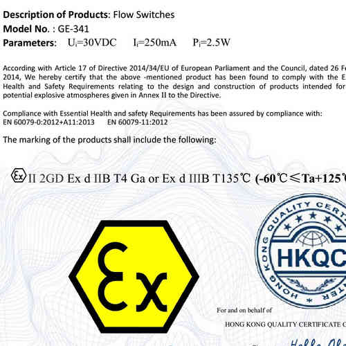 ATEX Flame Explosion-proof