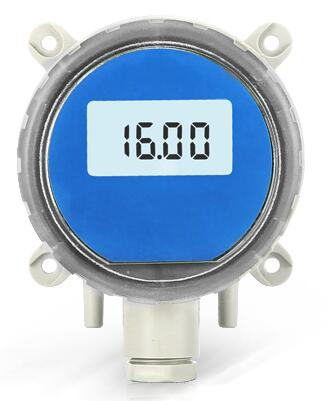 LCD Display Screen of Air Flow Velocity Sensor